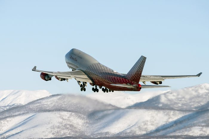 Самолёт ак Россия
