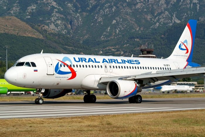 Самолёт Уральские Авиалинии