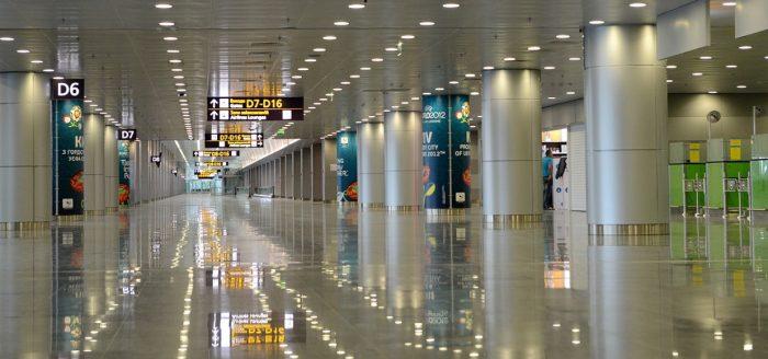 Аэропорт Борисполя изнутри