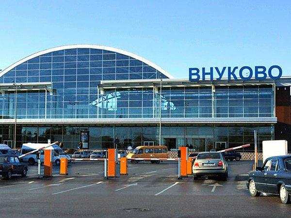 Вход в аэропорт Внуково