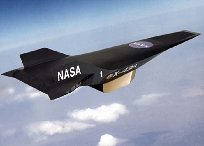 Беспилотник Боинг X-43