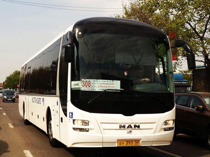 Автобус 308 Домодедово