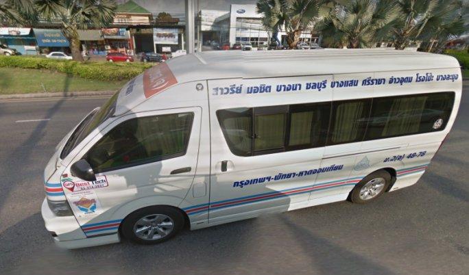 Автобус в Утапао