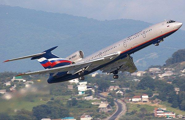 Ту-154-3 на взлёте