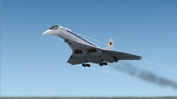 Ту-144 полёт