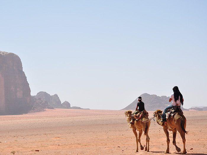 В пустыне Иордании