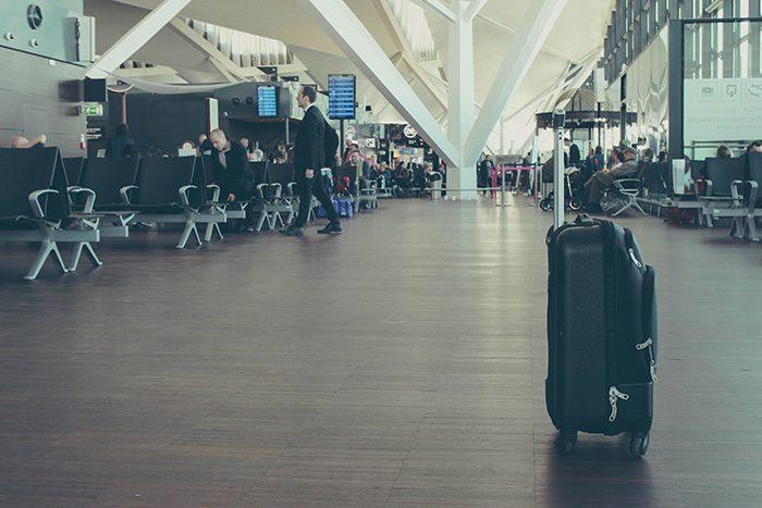 В аэропорте