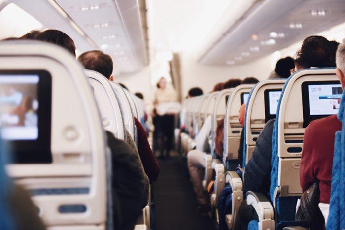 На борту самолёта