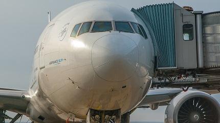 Посадка на борт самолета