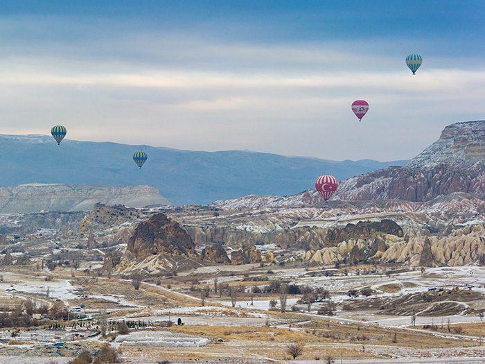 Турция, воздушные шары