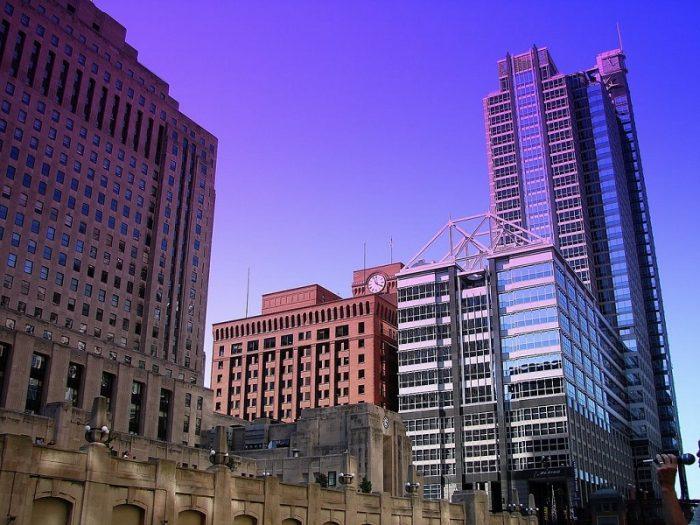 """Штабквартира """"Боинг"""" в Чикаго"""