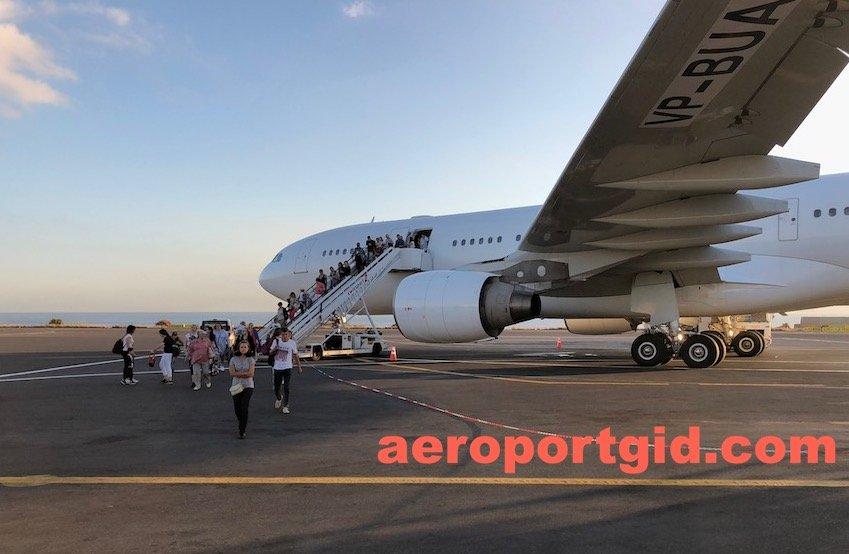Aerobus A330-200 компании Nordwind