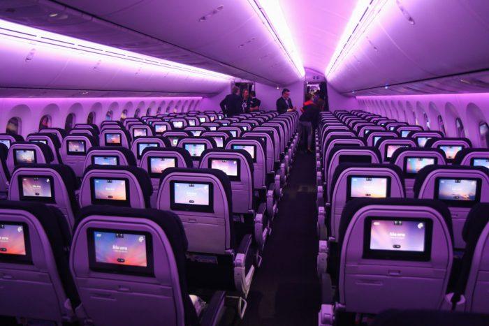Салон Боинга 787