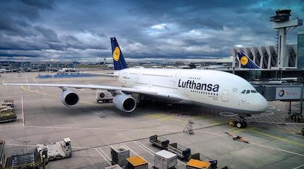 Франкфурт самолет Люфтганзы