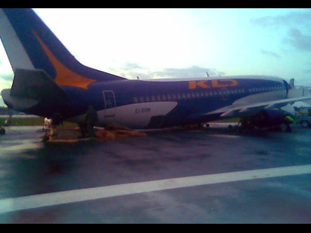 Боинг 737-300 происшествие в Храброво