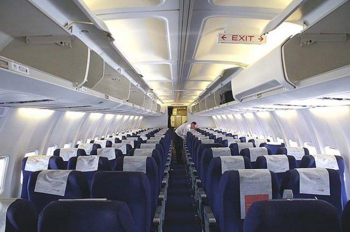 Салон Боинга 737-300