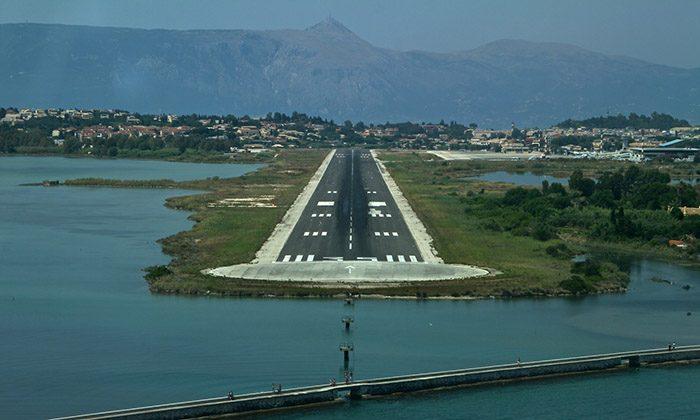 ВПП аэропорта Корфу