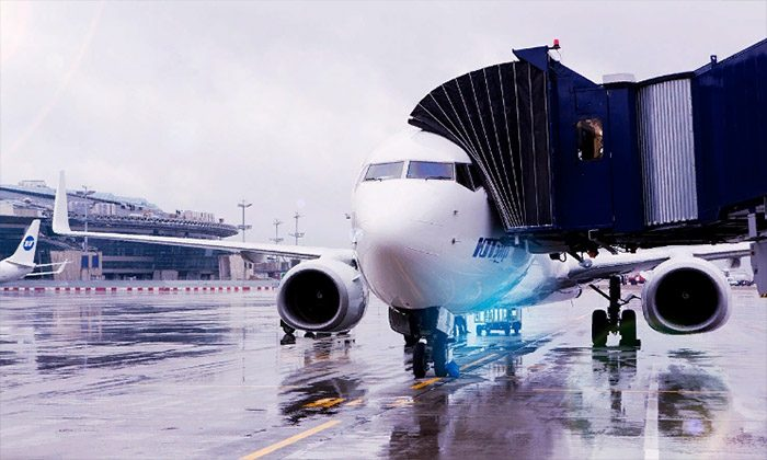 Посадка на самолет Ютэйр