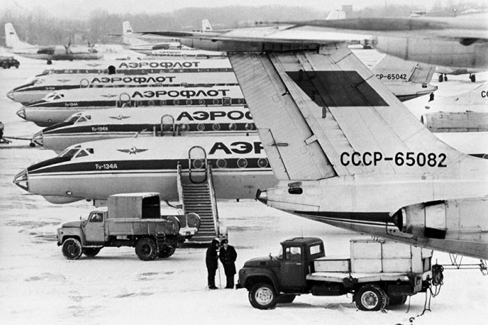 Самолёты Аэрофлот в 1960