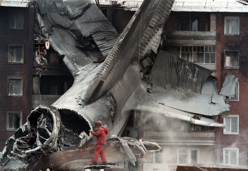Катастрофа Ан124 в Иркутске