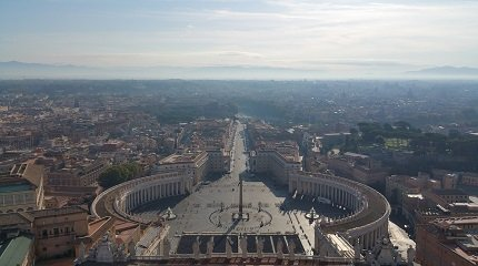 Площадь Св. Петра Ватикан
