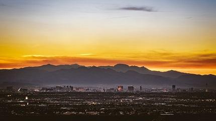 Закат над Лас-Вегасом