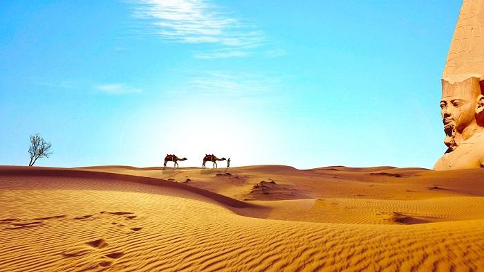 Сахара, Египет