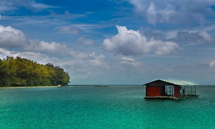 Фукуок дом на воде