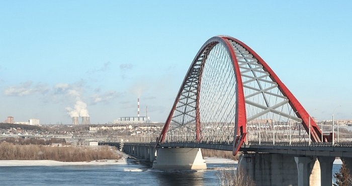 Новосибирск Красный мост