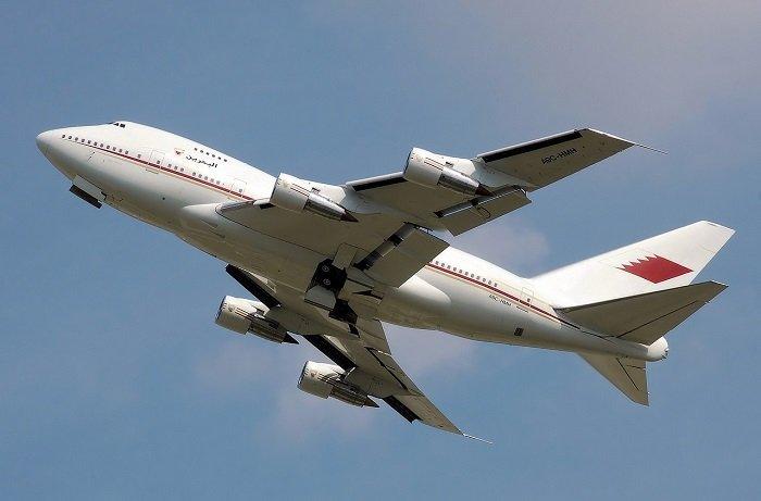 Самолет Gulf Air